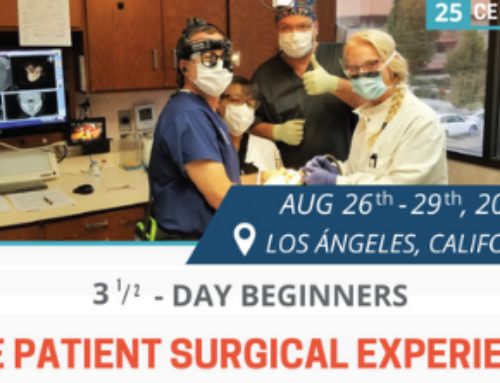 3½ -Day Beginners LIVE Patient Implant Surgery